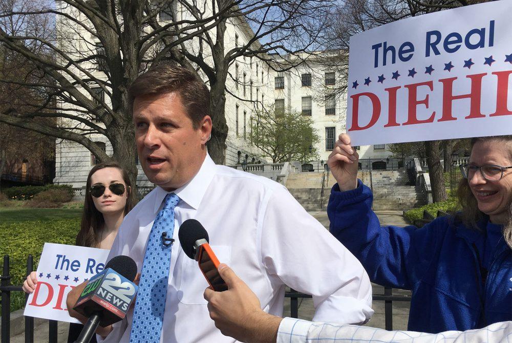 State Rep. Geoff Diehl (Steve Brown/WBUR)
