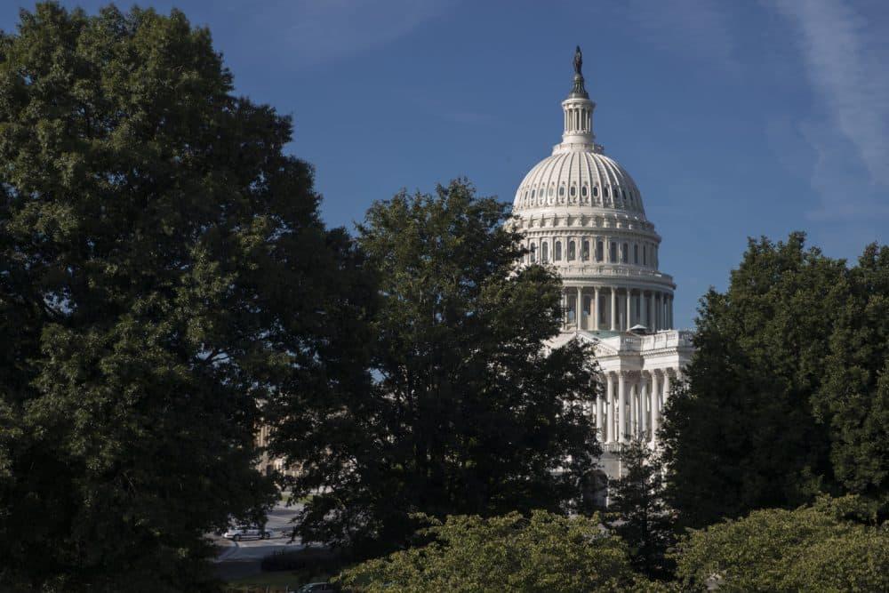 The Capitol is seen in Washington, Monday, July 31, 2017. (J. Scott Applewhite/AP)