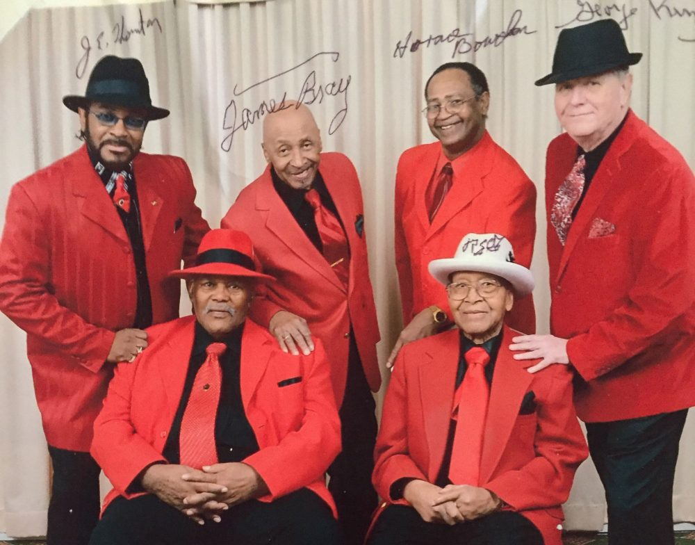 Top row, from left: Jeffrey Thornton, James Bray, Horace Bowdon and George King. Bottom row, from left: Melvin Francisco and Randy Green (Courtesy)