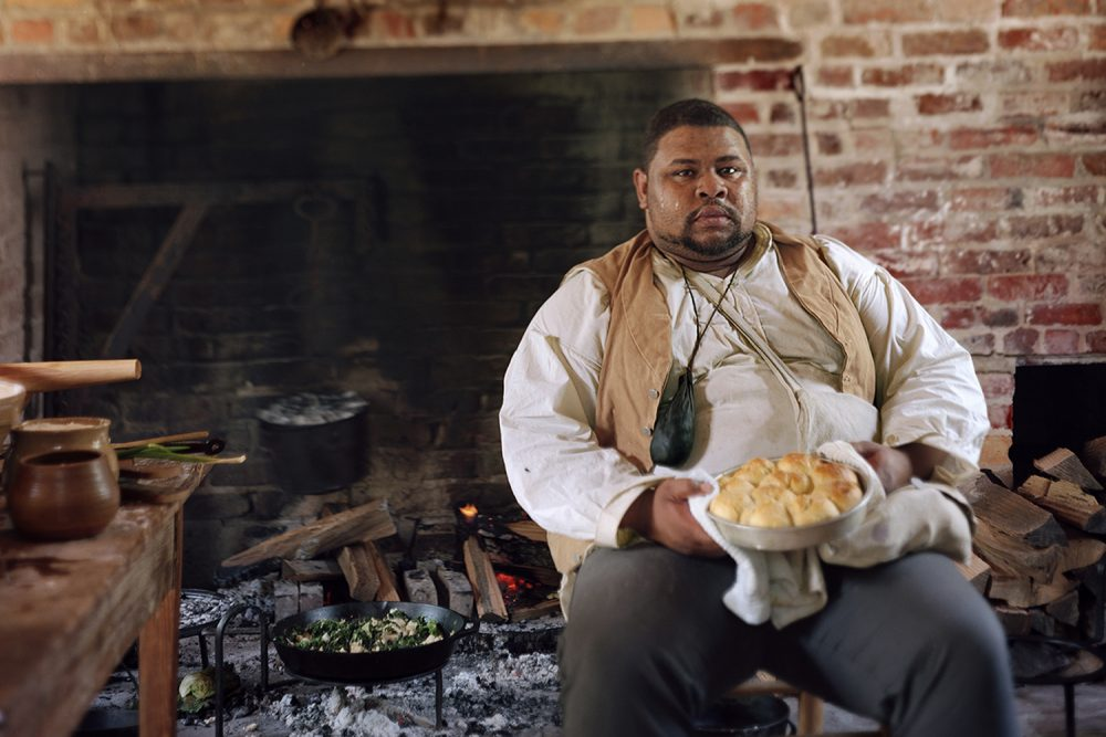 Michael Twitty uses cooking to tap into his ancestral roots. (Photo by Johnathan M. Lewis/Afroculinaria)