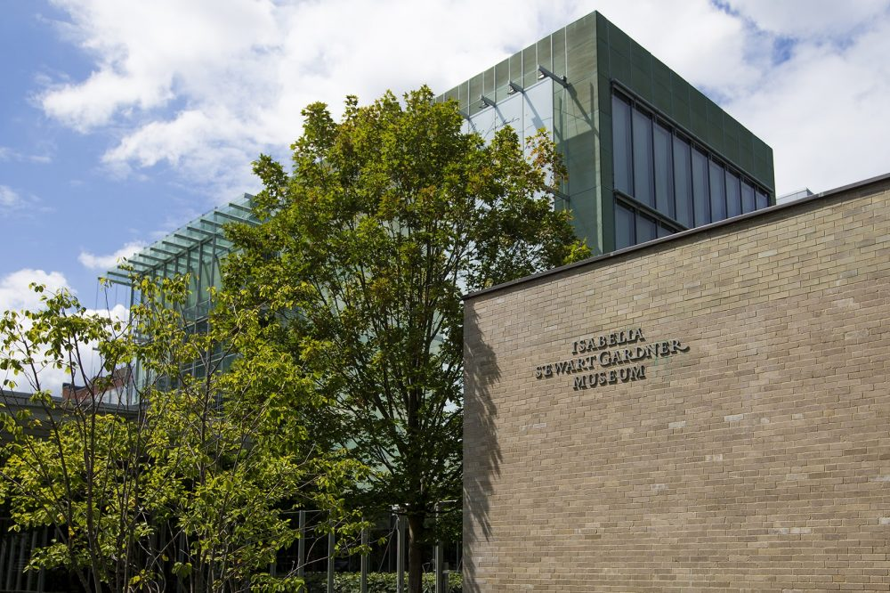 The exterior of the Isabella Stewart Gardner Museum. (Jesse Costa/WBUR)