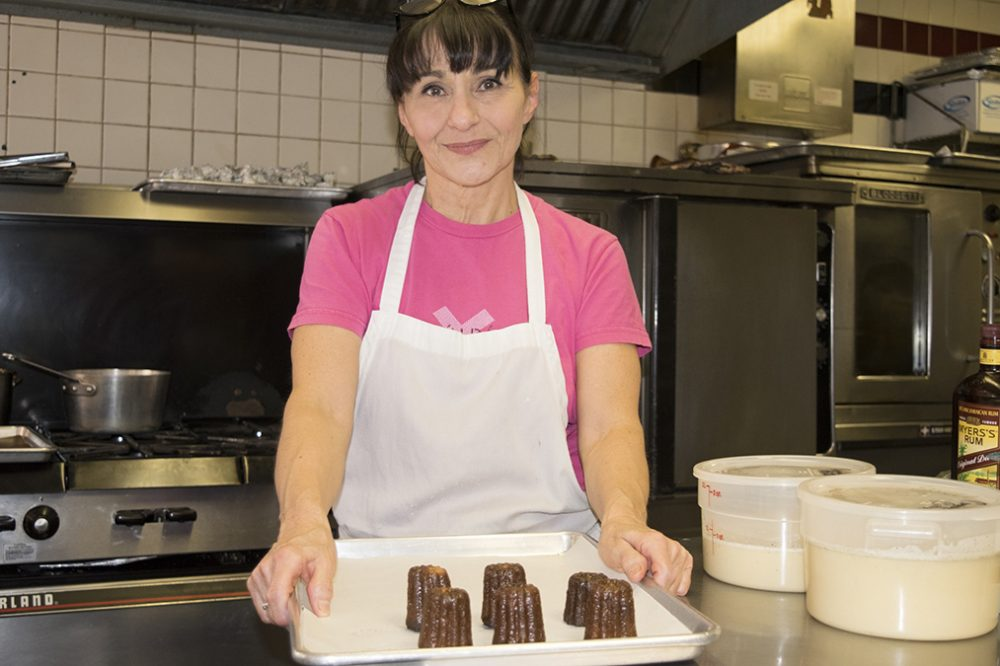 Teresa Wall uses vanilla in about 75 percent of her recipes at her Philadelphia bakery, Tartes. But not everyone is willing to pay for real vanilla. (Irina Zhorov/The Pulse)