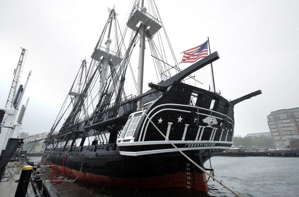 After two-and-a-half-years of undergoing restoration, the USS Constitution is open for tours again.  (AP Photo/Steven Senne)