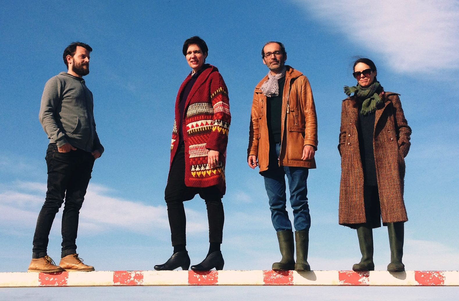 The Laetitia Sadier Source Ensemble. (Courtesy Olia Eichenbaum)