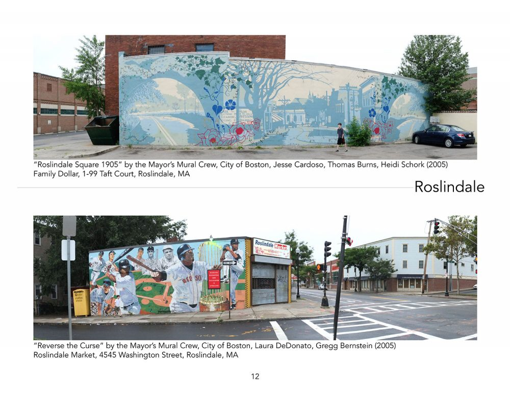 In Roslindale, Christine Verret found paintings by the Mayor's Mural Crew. (Courtesy Christine Verret)
