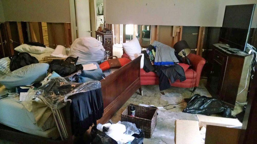 The master bedroom in Joe Storthz's home in Houston. (Courtesy Joe Storthz)