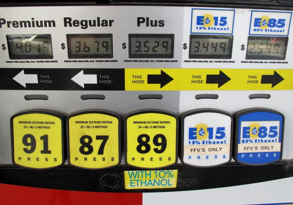 Nearly all of the ethanol blended into U.S. gasoline is made from corn. (Grant Gerlock/Harvest Public Media)