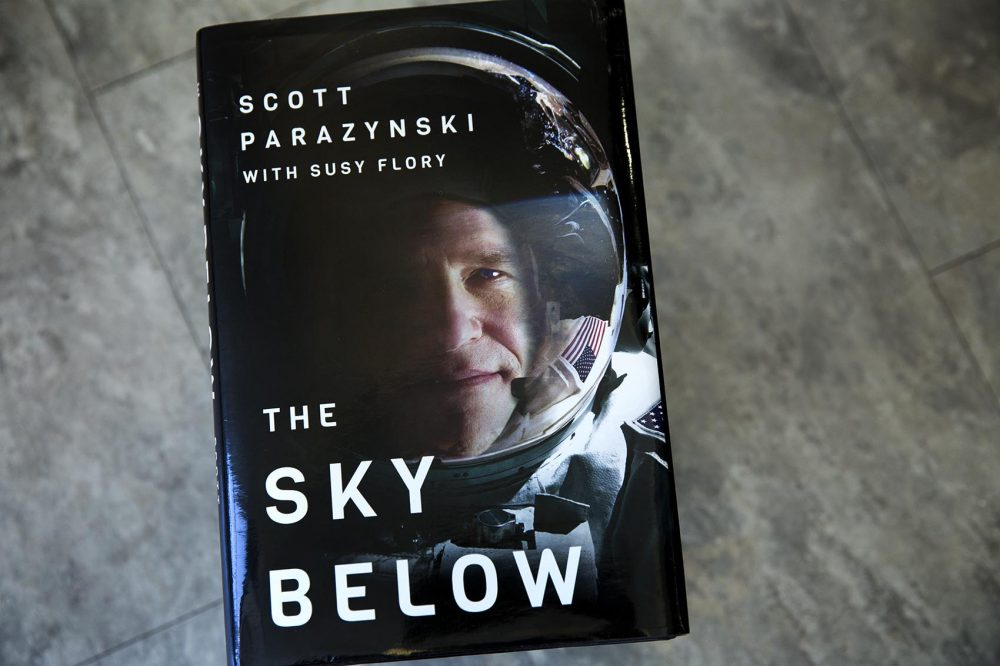 """The Sky Below,"" by Scott Parazynski. (Robin Lubbock/WBUR)"