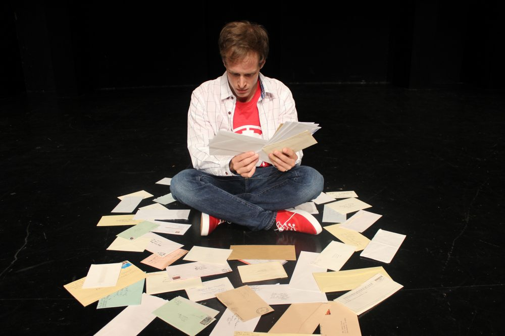 """Mickey Rowe plays the lead role in the Indiana Repertory Theater's production of """"The Curious Incident of the Dog in the Night-Time."""" (Courtesy Indiana Repertory Theatre)"""