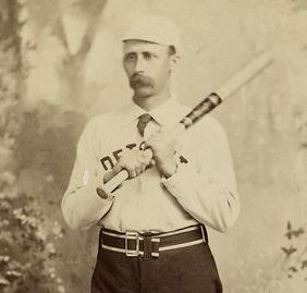 "James ""Deacon"" White played for the Detroit Wolverines from 1878-1880. (Public Domain)"