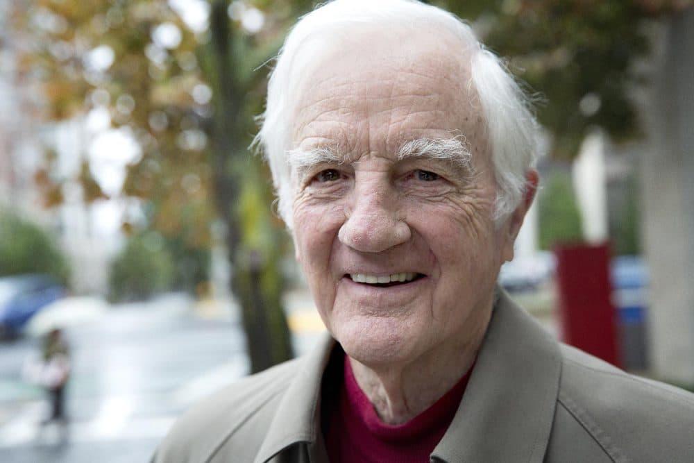Derek Bok, former president of Harvard University. (Robin Lubbock/WBUR)