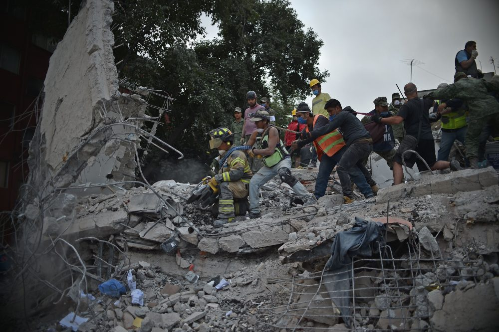 Donate Your Car >> Mexico City Digs Out Of Rubble After Deadly Earthquake ...