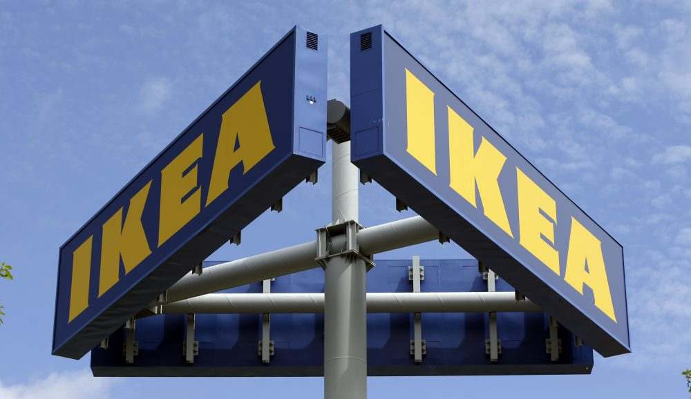 Ikea said that it is buying online on-demand services platform TaskRabbit, which lets users hire people to help them move, clean up the house or assemble furniture. Ikea says it offered TaskRabbit services in its stores in London in 2016 and plans to roll out the service in U.S. stores and more U.K. locations. (AP Photo/Alan Diaz, File)
