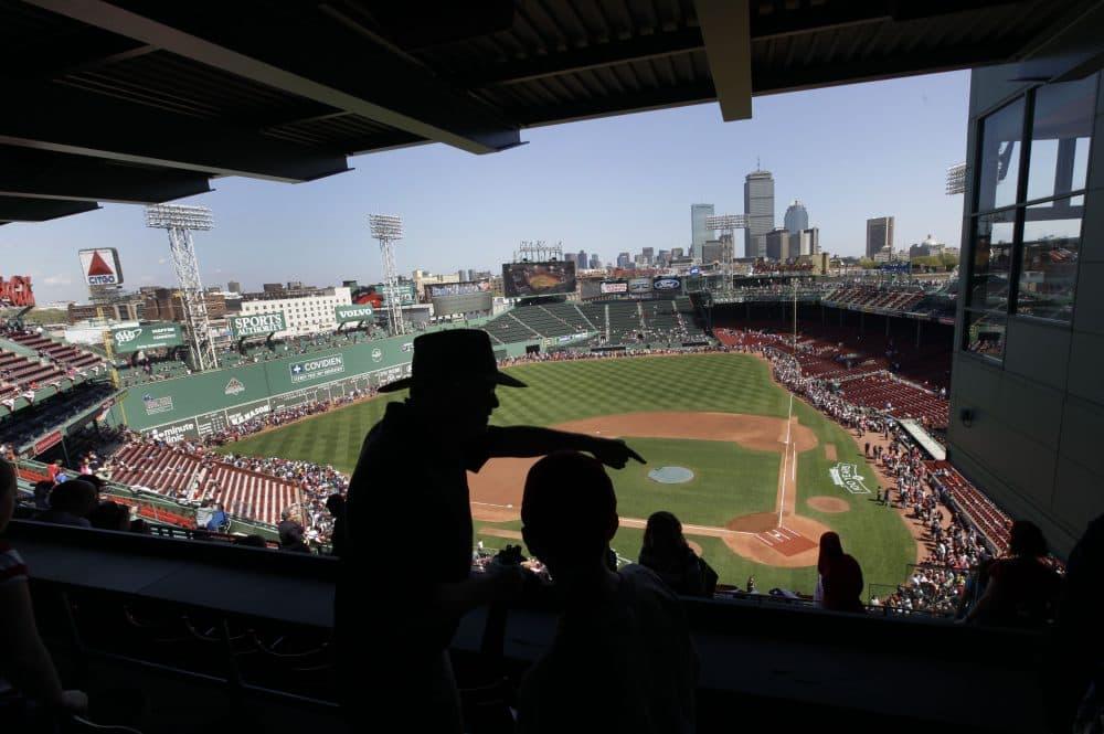 On Friday night, Fenway Park will host the first first-ever marathon inside a Major League Baseball ballpark. (Elise Amendola/AP)