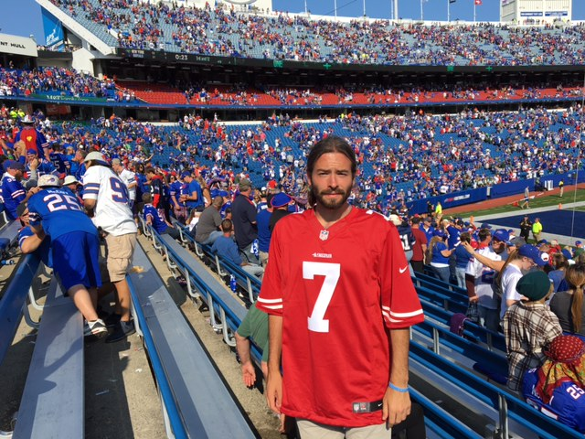 the latest 0baa9 17d45 Mission Improbable: Surviving A Bills Game ... In A ...