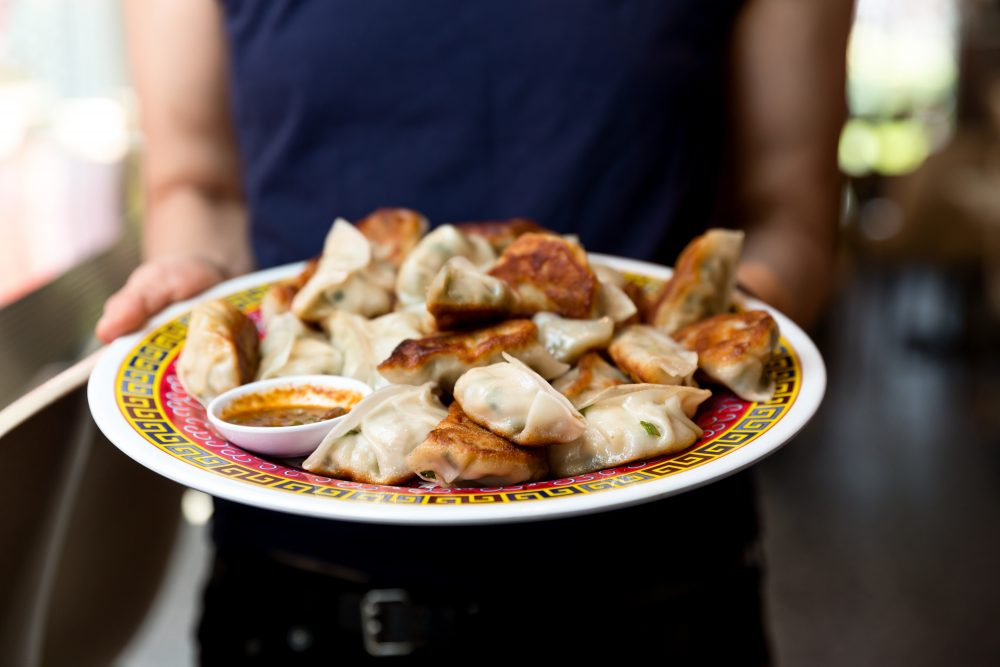 Mama Chang's Pork and Chive Dumpling. (Courtesy Kristin Teig)
