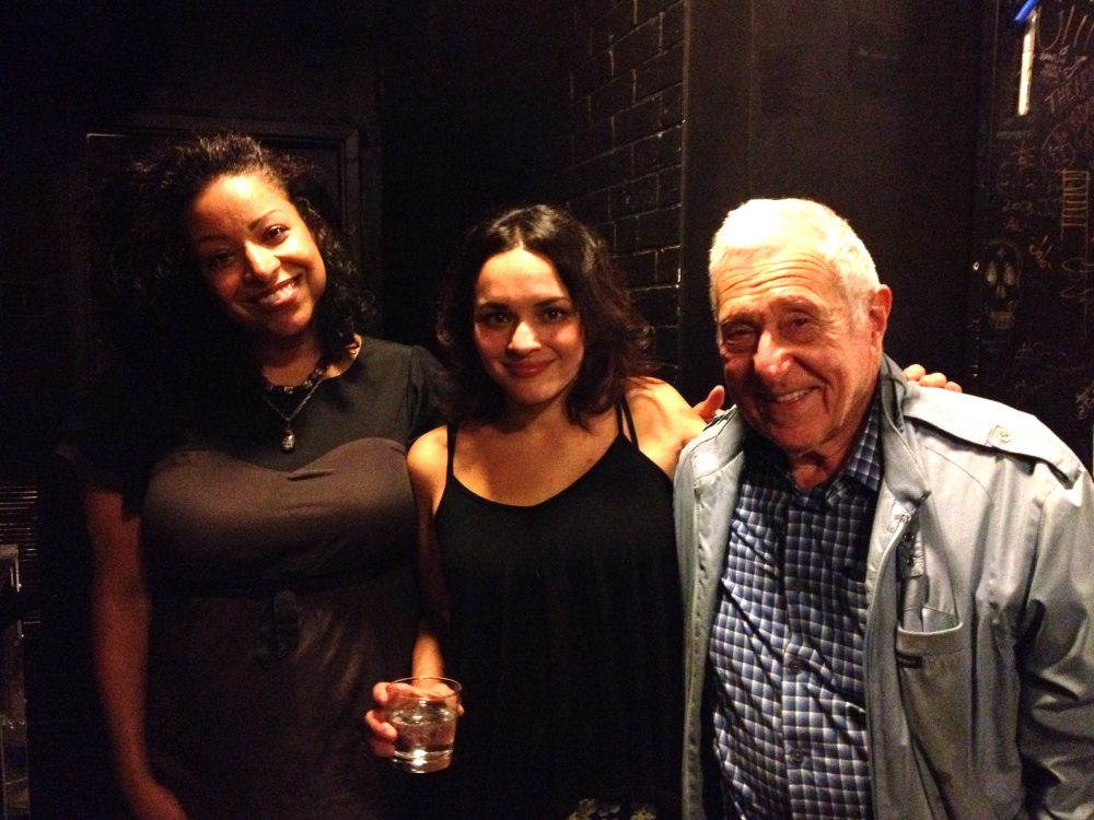 Musicians Nicole Nelson and Norah Jones with Fred Taylor. (Courtesy)
