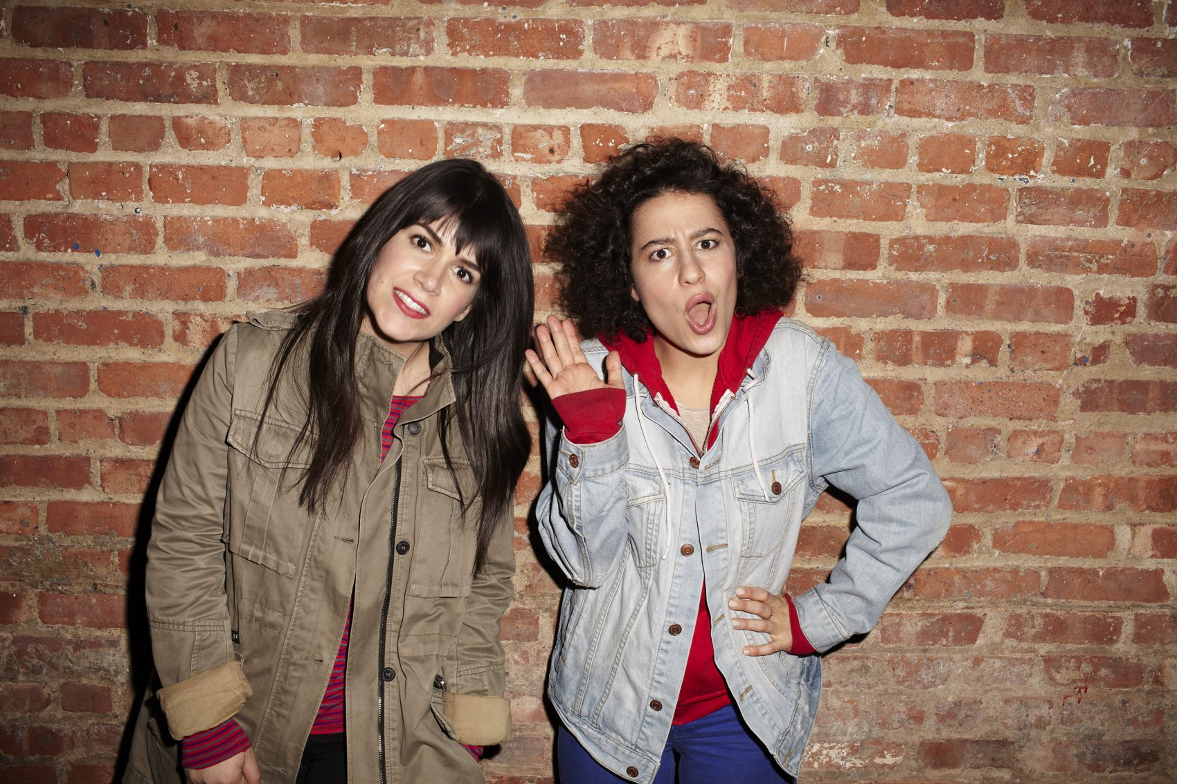 "Abbi Jacobson and Ilana Glazer of ""Broad City."" (Courtesy of Lane Savage)"