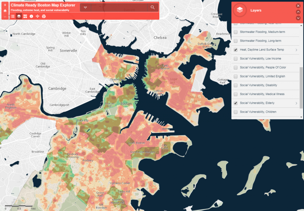 (Courtesy of the Climate Ready Boston Map Explorer)