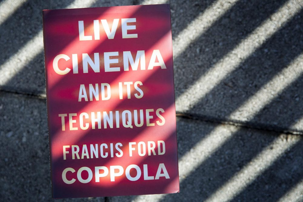 """Live Cinema and Its Techniques,"" by Francis Ford Coppola. (Robin Lubbock/WBUR)"