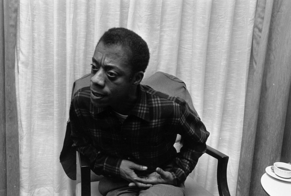 American writer and civil rights activist James Baldwin. (Townsend/Getty Images)