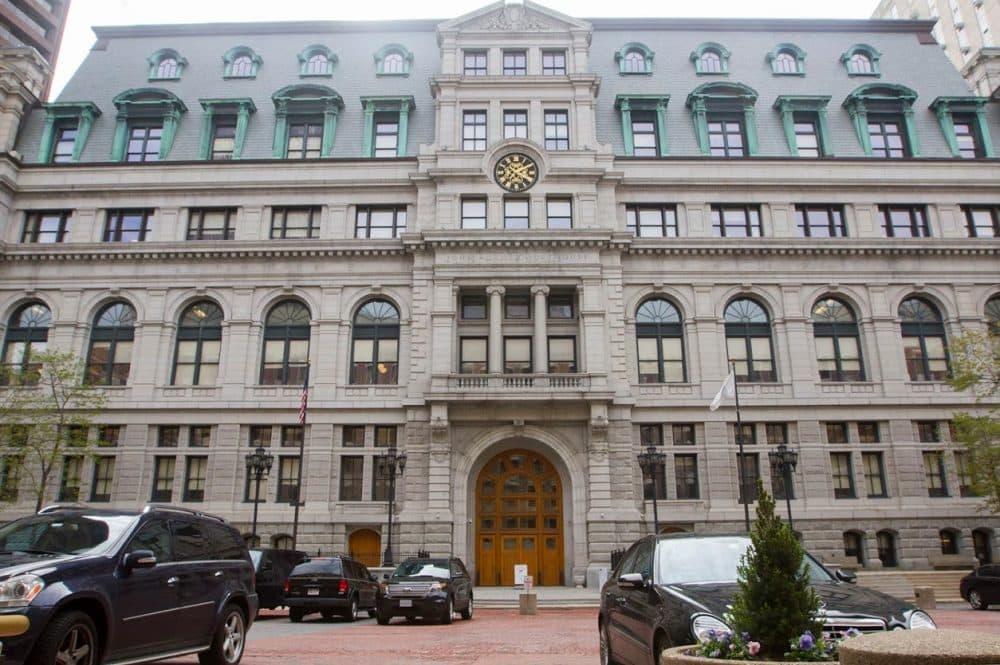 John Adams Courthouse. (Joe Difazio for WBUR)