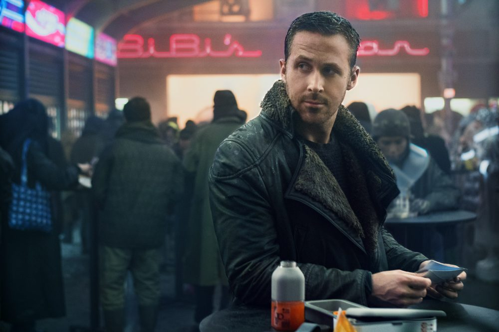 "Ryan Gosling as K in ""Blade Runner 2049."" (Courtesy Stephen Vaughan/Alcon Entertainment)"