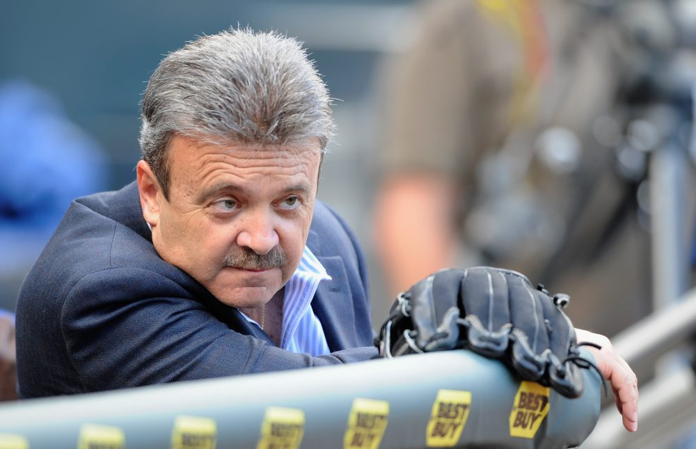 Former Dodgers GM Ned Colletti tells a story involving an owner, a starting pitcher and a couple beers. (Hannah Foslien/Getty Images)