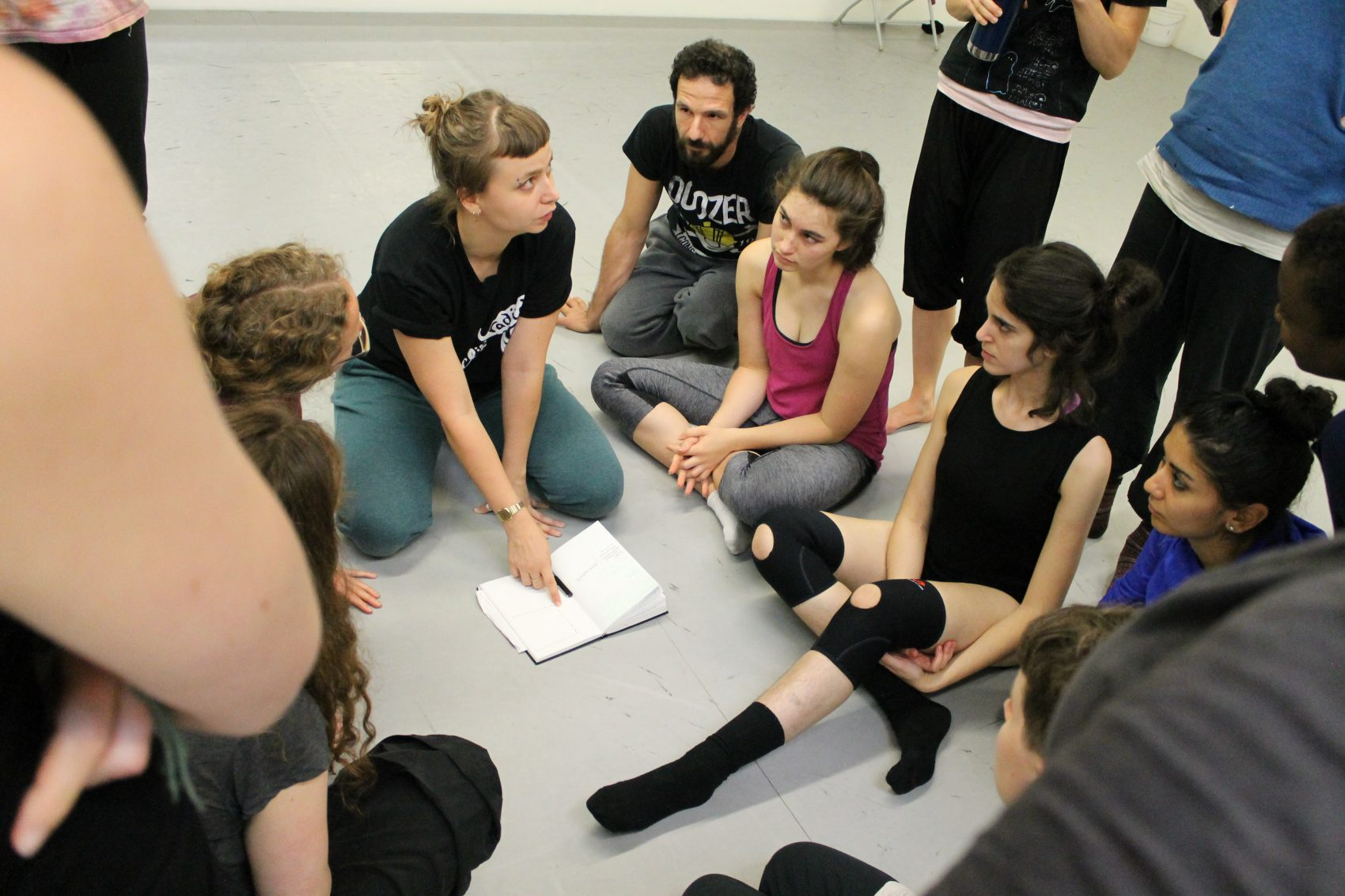 Last year's Lion's Jaws workshops. (Courtesy The Fleet/New Movement Collaboration)