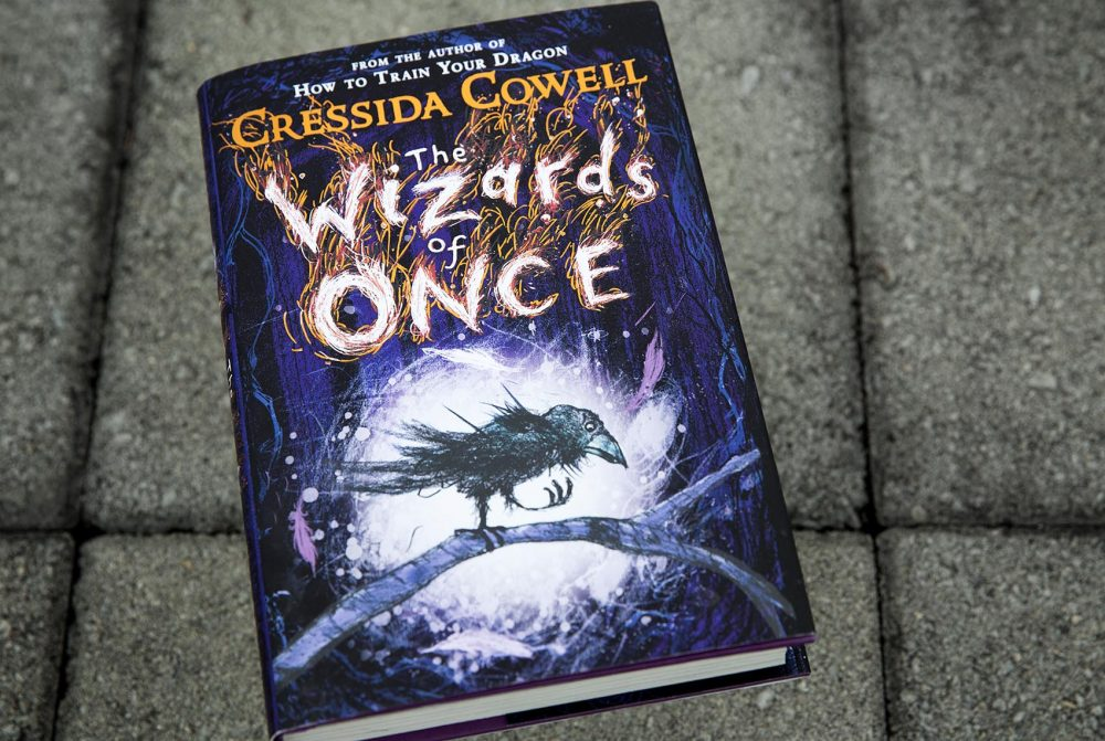 """""""The Wizards of Once,"""" by Cressida Cowell. (Robin Lubbock/WBUR)"""