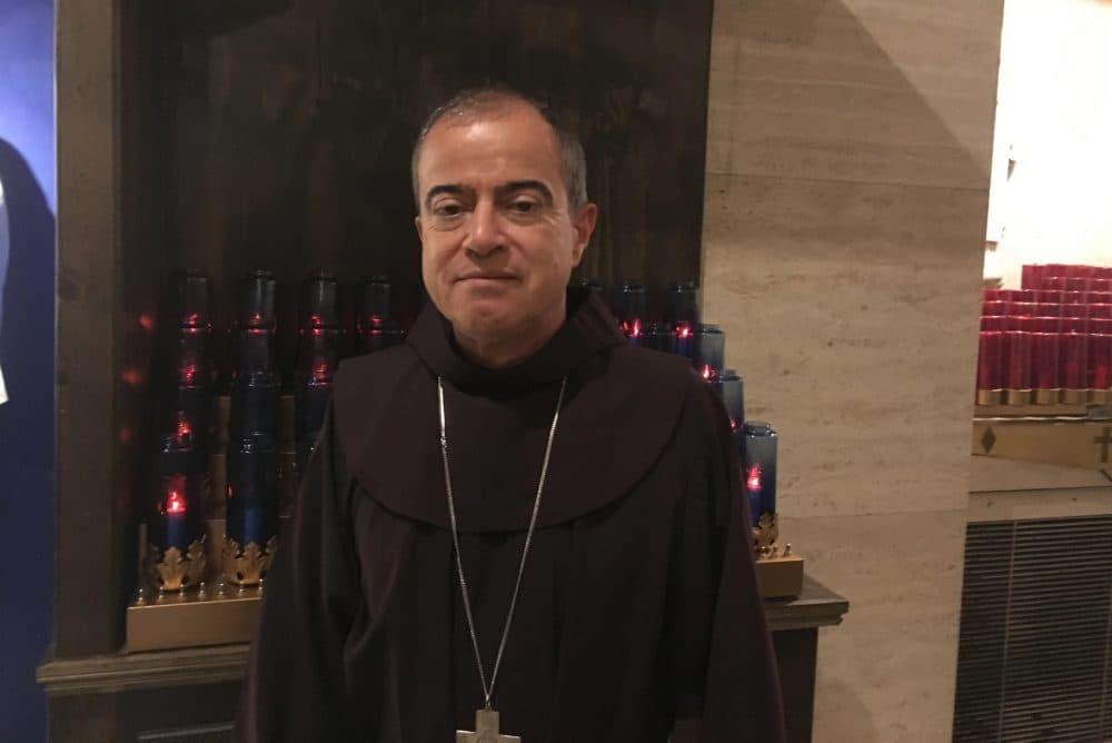 Archbishop of San Juan Roberto González (Yasmin Amer/WBUR)