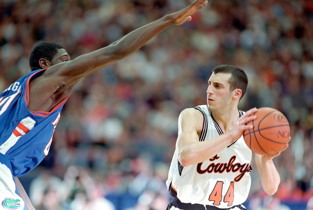 """You didn't have to worry about anything,"" Gottlieb says of his college days. ""You just had to show up. And if you show up and you do your job, you have a great time."" (Al Bello/Allsport)"