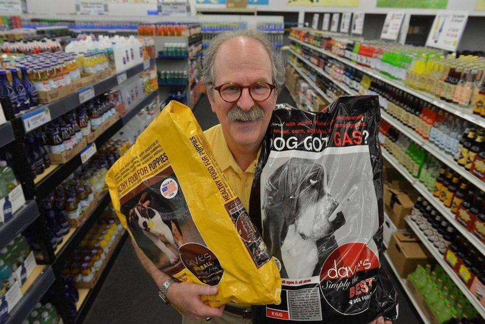 Dave Ratner of the Springfield-based Dave's Soda and Pet City (John Suchocki/The Republican)