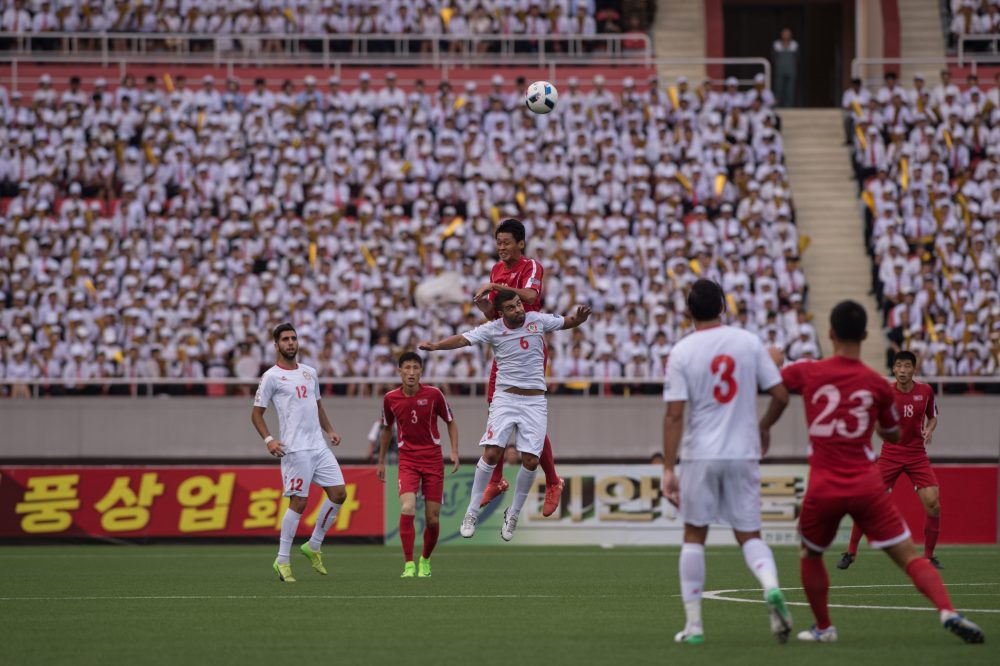 North Korea and Lebanon met in an Asia Cup qualifier in September. Soony Saad wasn't exactly looking forward to the matchup. (Kim Won-jin/AFP/Getty Images)