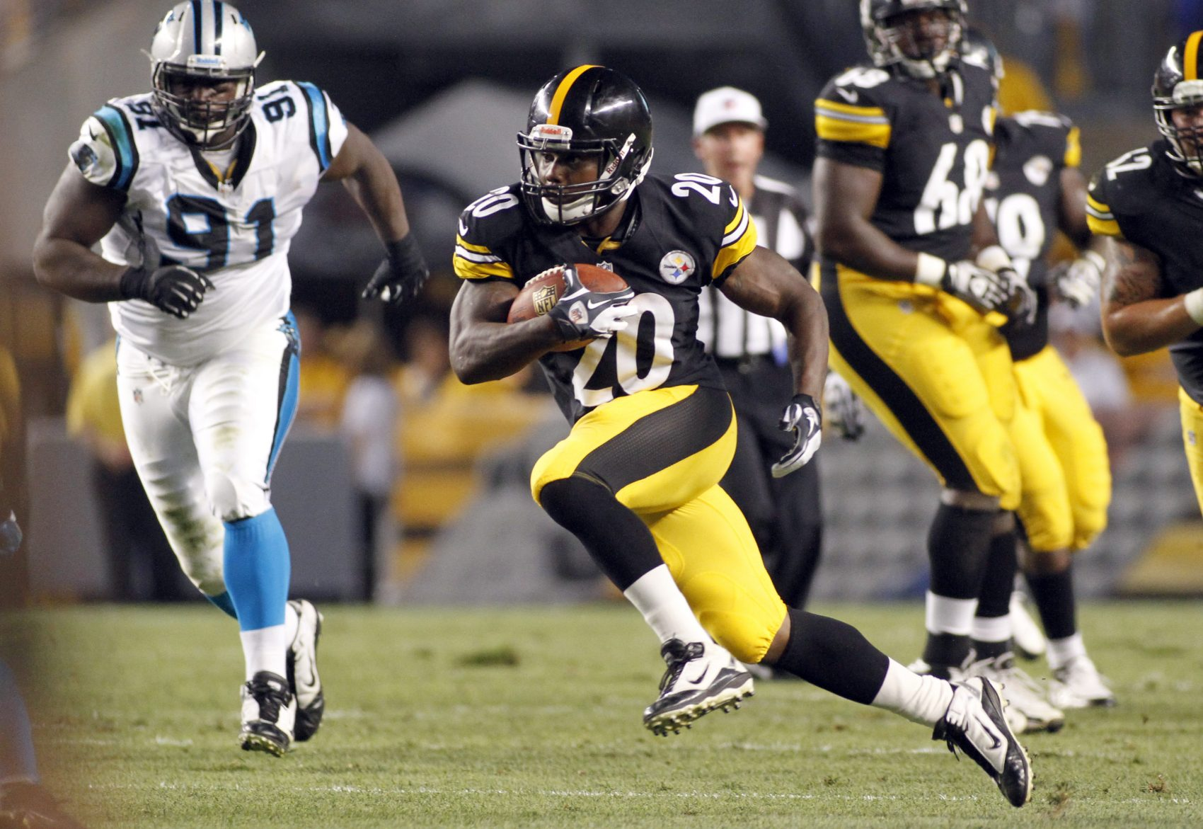 7ce5b6debc3 Former Pittsburgh Steelers RB Baron Batch On Art And His Arresting ...