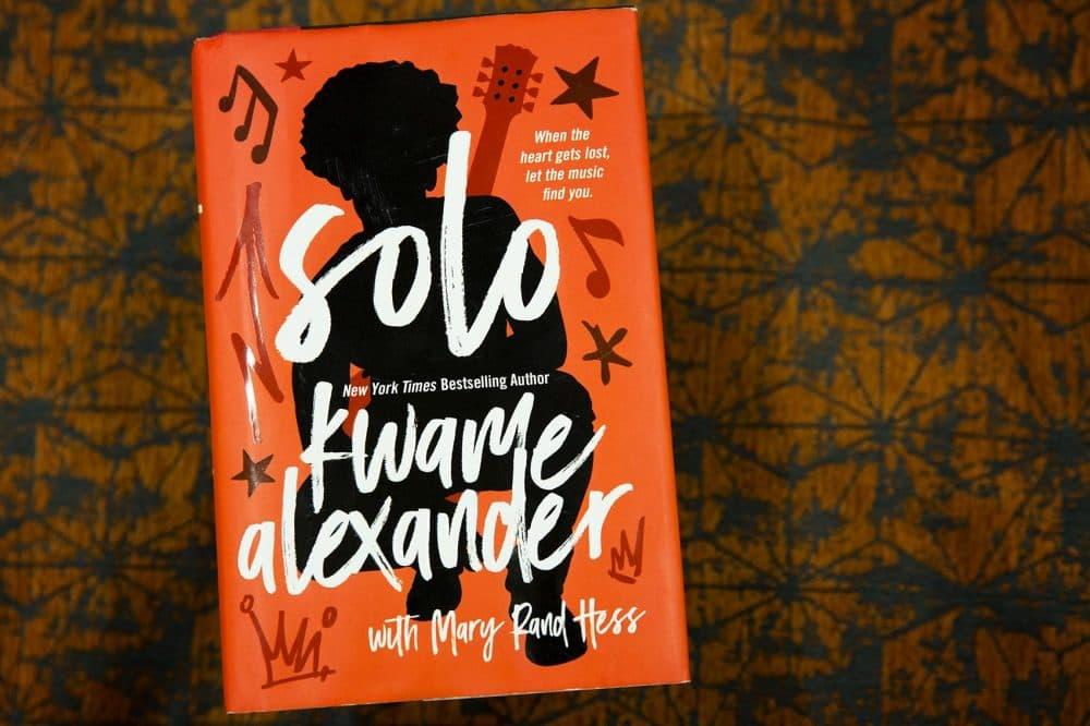 """""""Solo,"""" by Kwame Alexander. (Robin Lubbock/WBUR)"""
