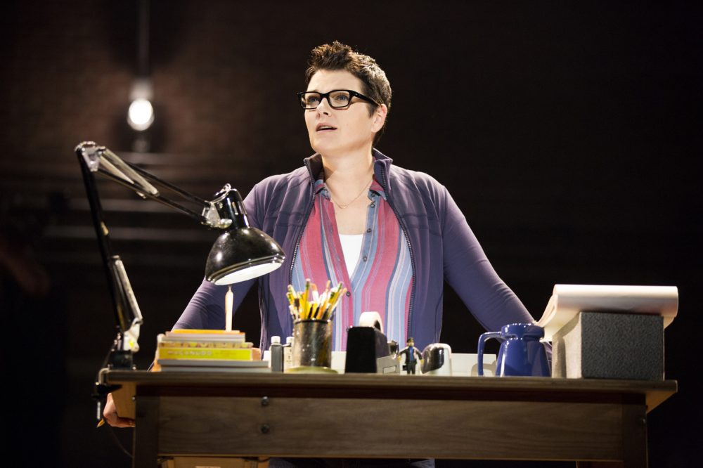 """Kate Shindle as Alison in """"Fun Home."""" (Courtesy Joan Marcus)"""