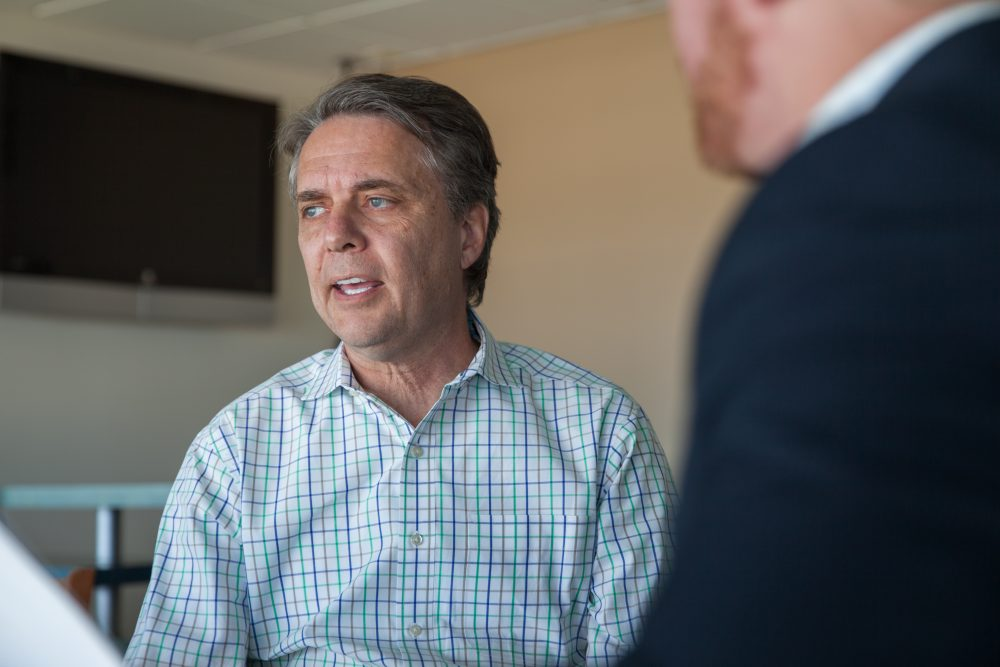 Kansas Lt. Gov. Jeff Colyer. (Dean Russell/Here & Now)