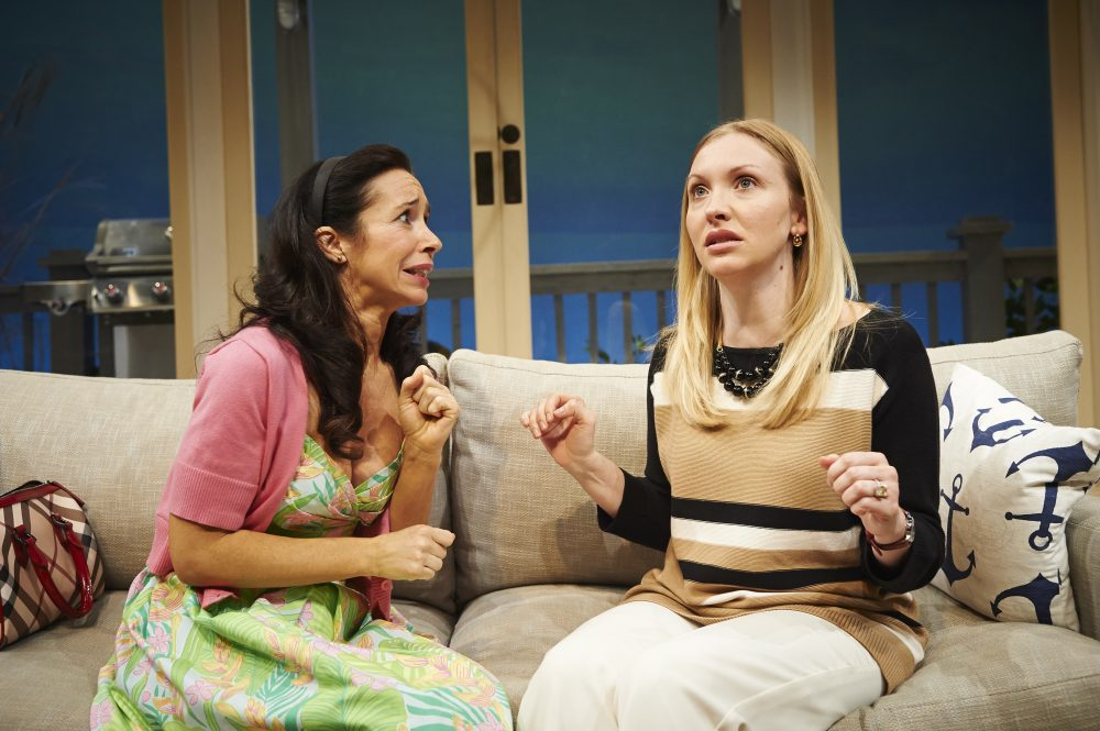 """Robin Abramson and Kimberly Parker Green Abramson in Pittsburgh's City Theatre production of """"Elemeno Pea."""" (Courtesy Kristi Jan Hoover)"""
