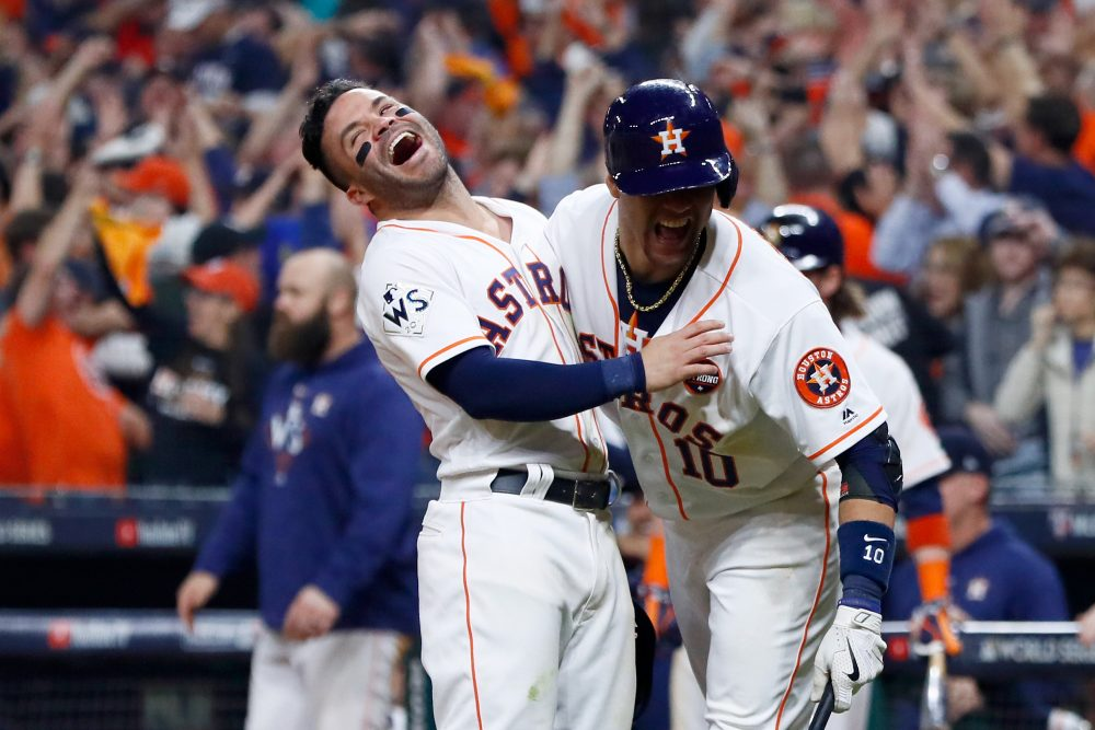 official photos 6e55b 56677 Astros Take Command In World Series | Here & Now