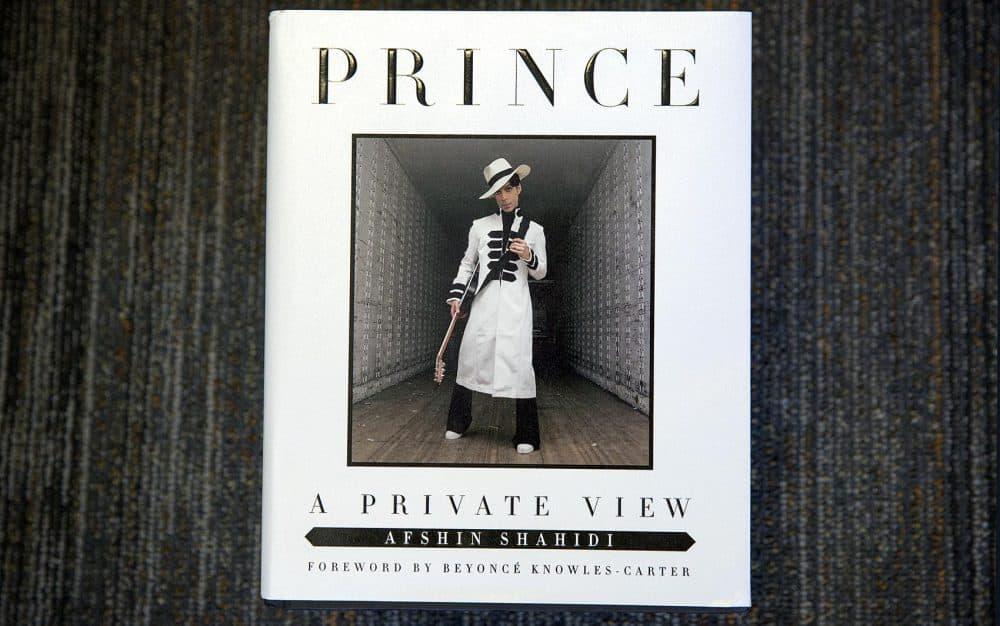 """Prince: A Private View,"" by Afshin Shahidi. (Robin Lubbock/WBUR)"