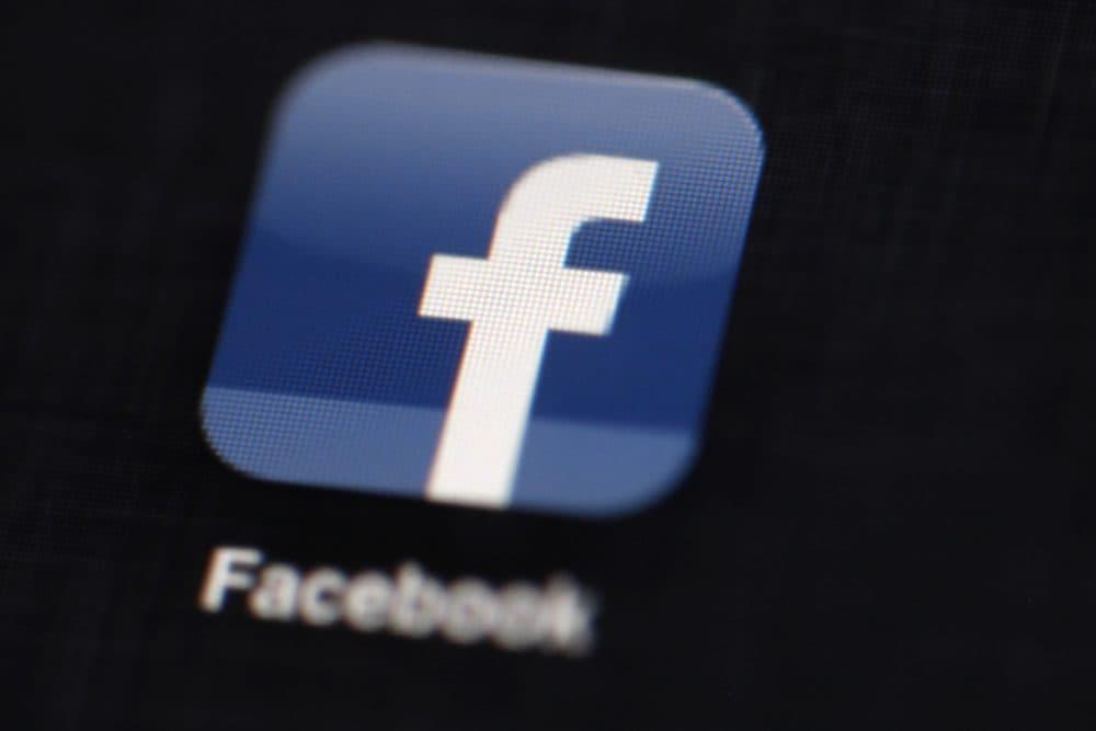 The Facebook logo circa 2012. (Matt Rourke/AP)