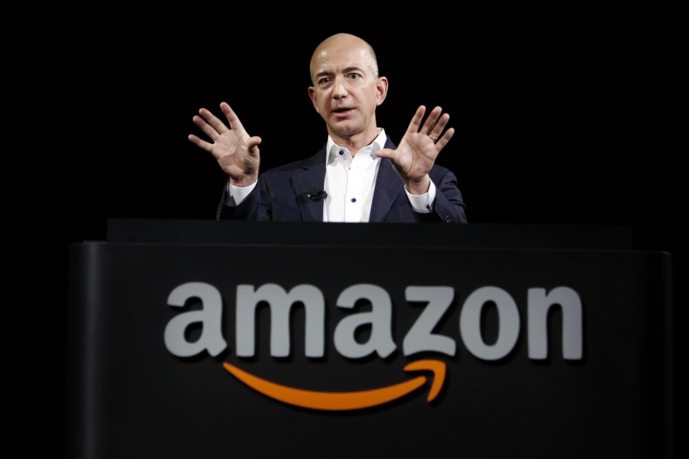 Jeff Bezos, CEO and founder of Amazon, in 2012 (Reed Saxon/AP)
