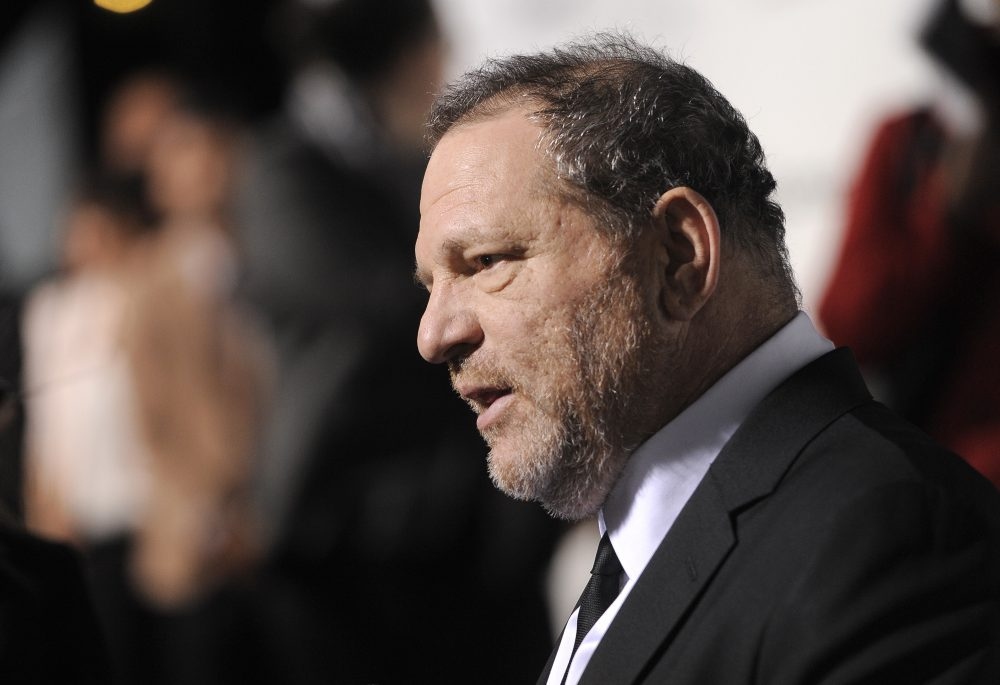 Harvey Weinstein as seen in February 2013 in Los Angeles. (Chris Pizzello/Invision/AP)