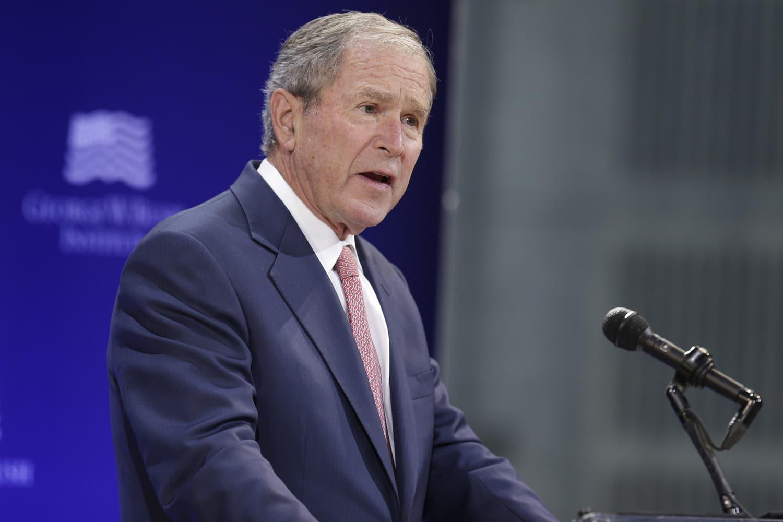 George W Bush Rebukes Donald Trump On Point