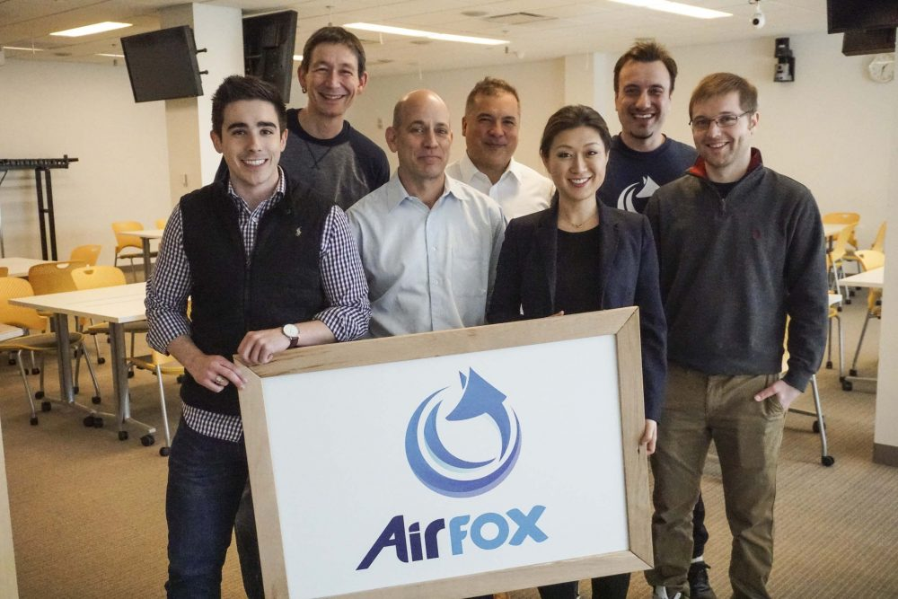 The AirFox team. (Courtesy AirFox)