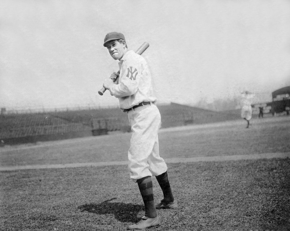 Those who watched Hal Chase (pictured here in 1909) play said he was a terrific first baseman. But he might be known best for fixing games.  (Courtesy of the National Baseball Hall of Fame Library, Cooperstown, N.Y.)