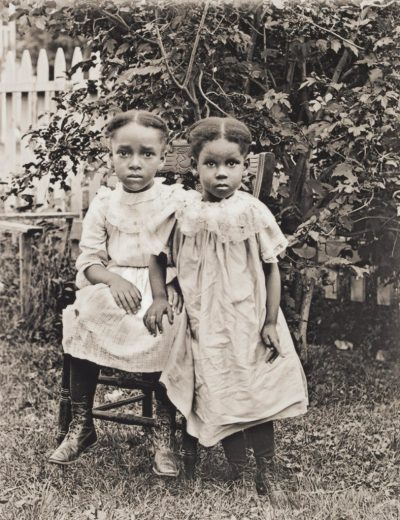 "William Bullard's photograph of the ""Jackson children"" from around 1900. (Courtesy Frank Morrill)"