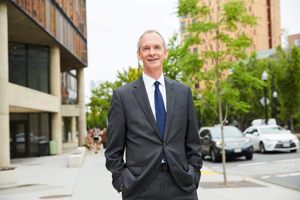 MassArt President David Nelson (Courtesy Kelly Davidson/MassArt)