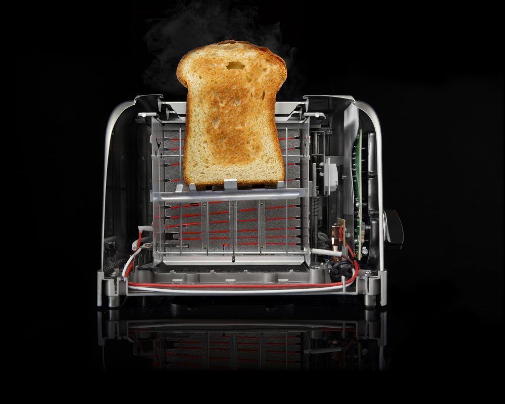 Cross-section of a toaster. (Courtesy, Modernist Bread)